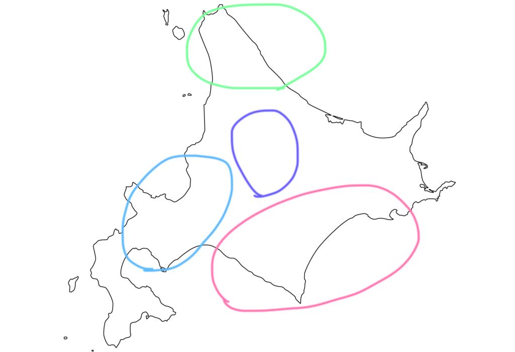 北海道は広い…降雪量は地域によってばらつきが多い